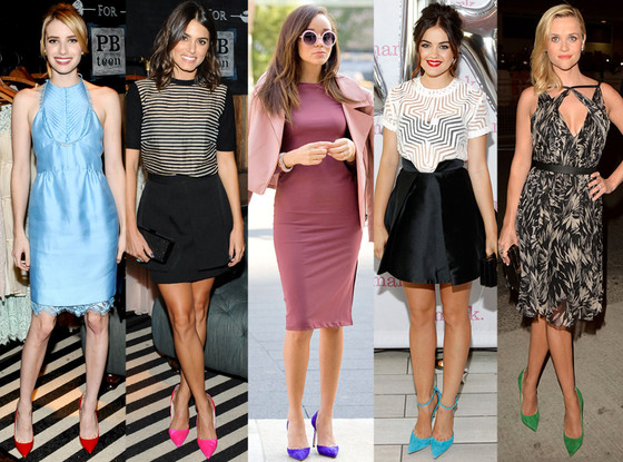 Emma Roberts, Nikki Reed, Ashley Madekwe, Lucy Hale, Reese Witherspoon,
