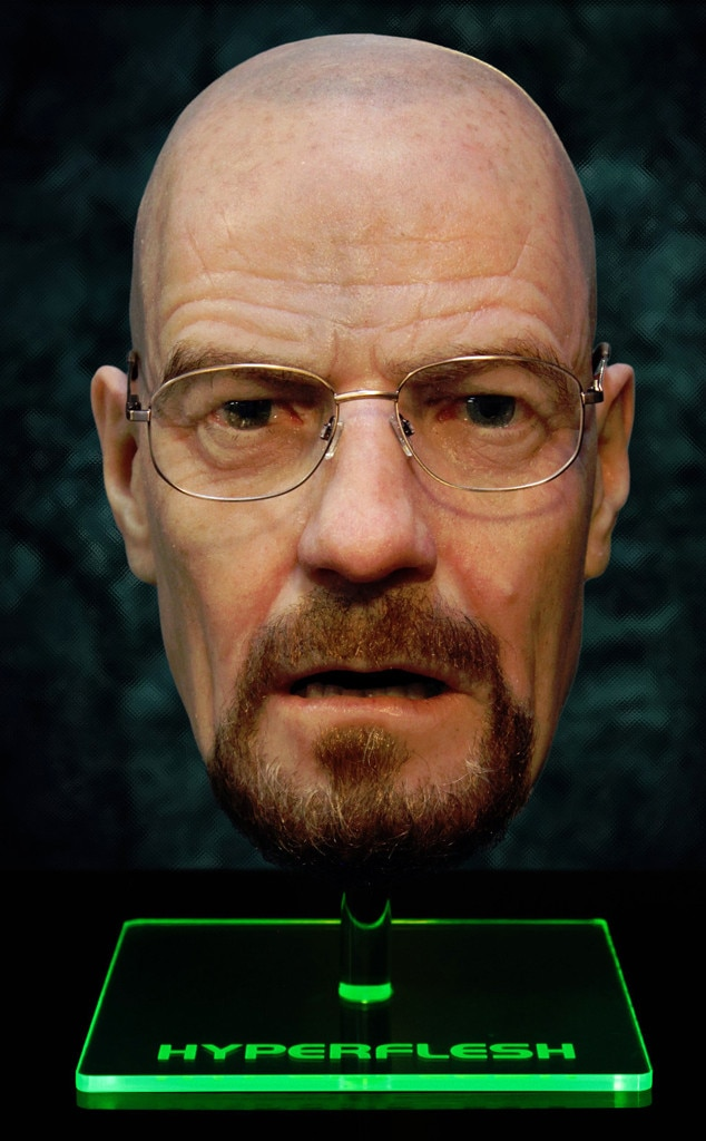 Walter White, Bryan Cranston, Breaking Bad Mask