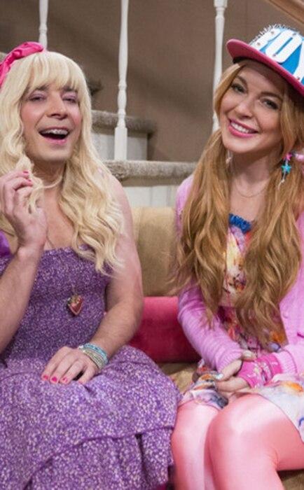 Lindsay Lohan,  Jimmy Fallon