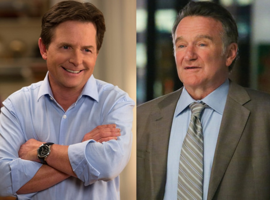 The Michael J. Fox Show, Robin Williams, The Crazy Ones
