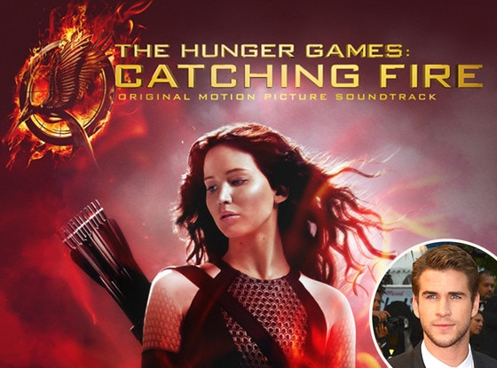 Catching Fire Soundstrack, Liam Hemsworth