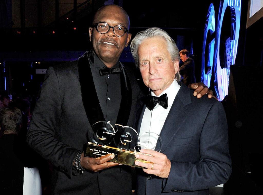 Samuel L. Jackson, Michael Douglas, GQ Men of the Year Awards