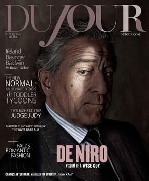Robert De Niro, DuJour