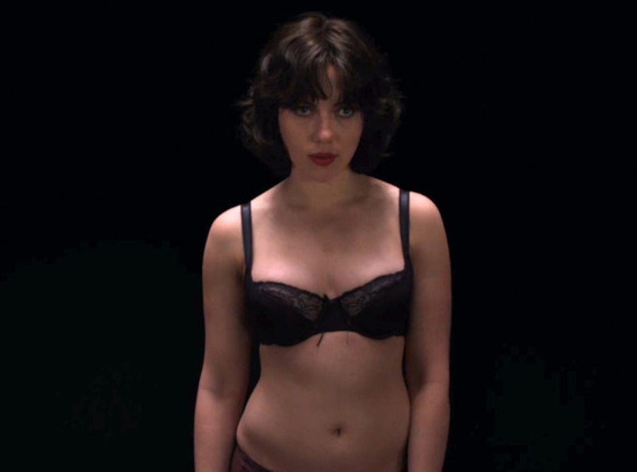 Scarlett Johansson, Under the Skin Trailer