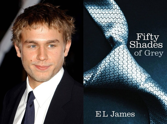 Charlie Hunnam, Fifty Shades Book Cover