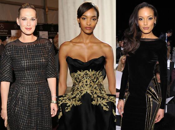 New York Fashion Week, Molly Sims, Jourdan Dunn, Selita Ebanks
