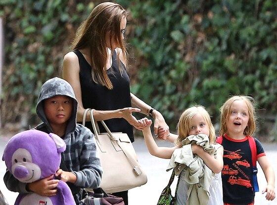Angelina Jolie, Knox, Vivienne, Pax