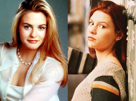Alicia Silverstone, Claire Danes, Clueless, My So Called Life
