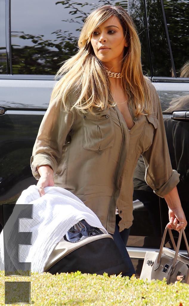 Carry On From Kim Kardashian S Blond Hair Transformation