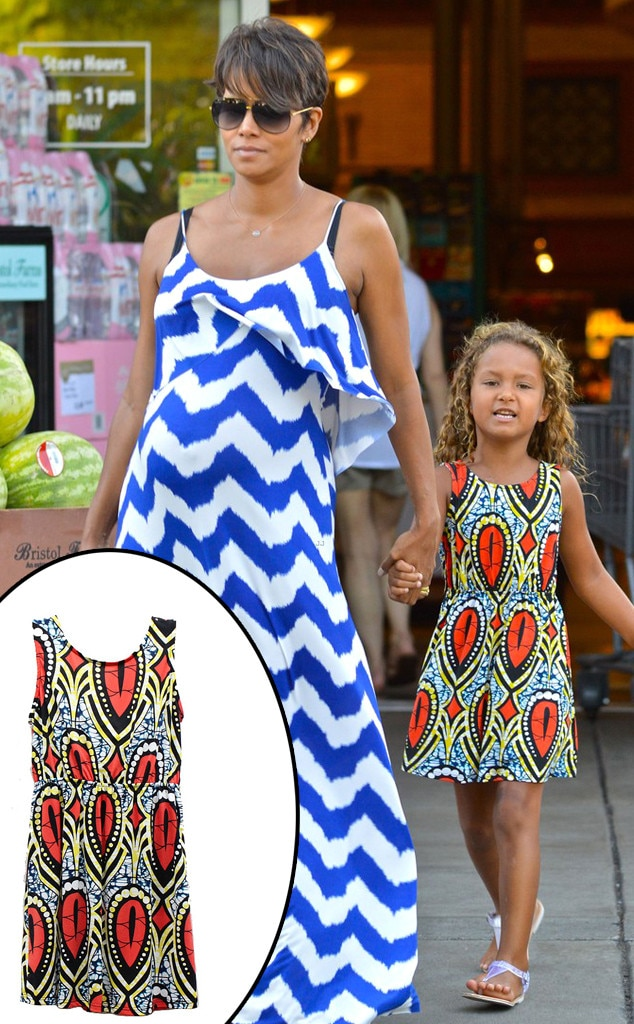 Halle Berry, Tbags Dress, Nahla Aubry