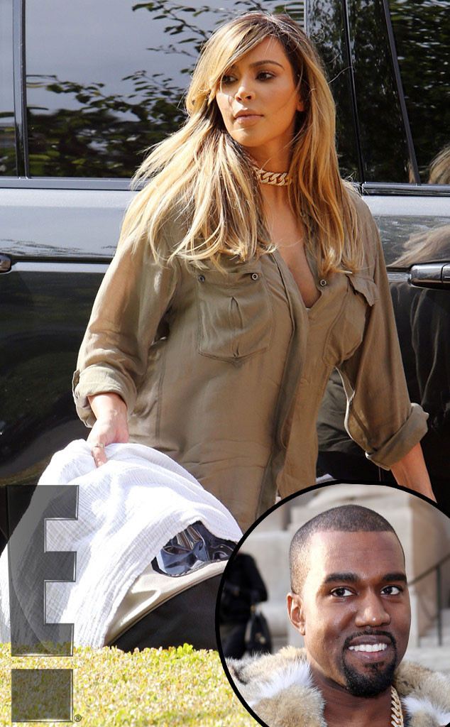 Kim Kardashian, Blonde, Kanye West