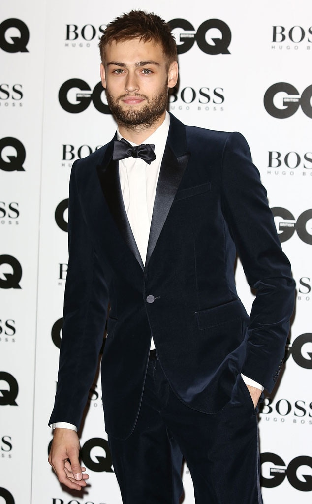 Douglas Booth, GQ Men of the Year Awards