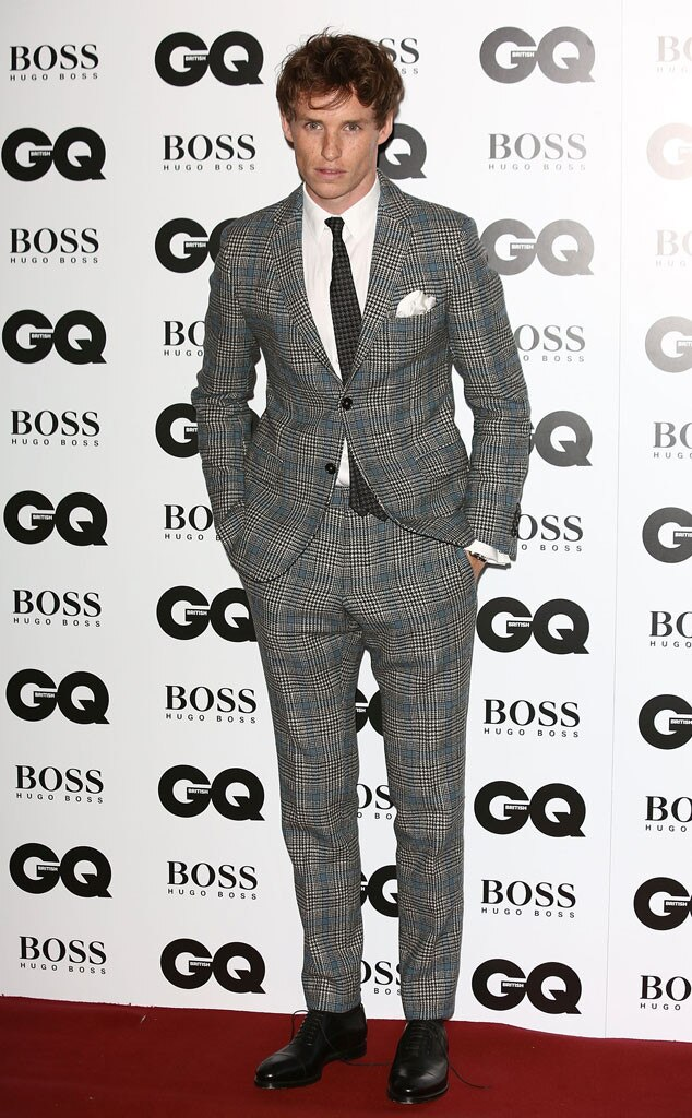 Eddie Redmayne, GQ Men of the Year Awards