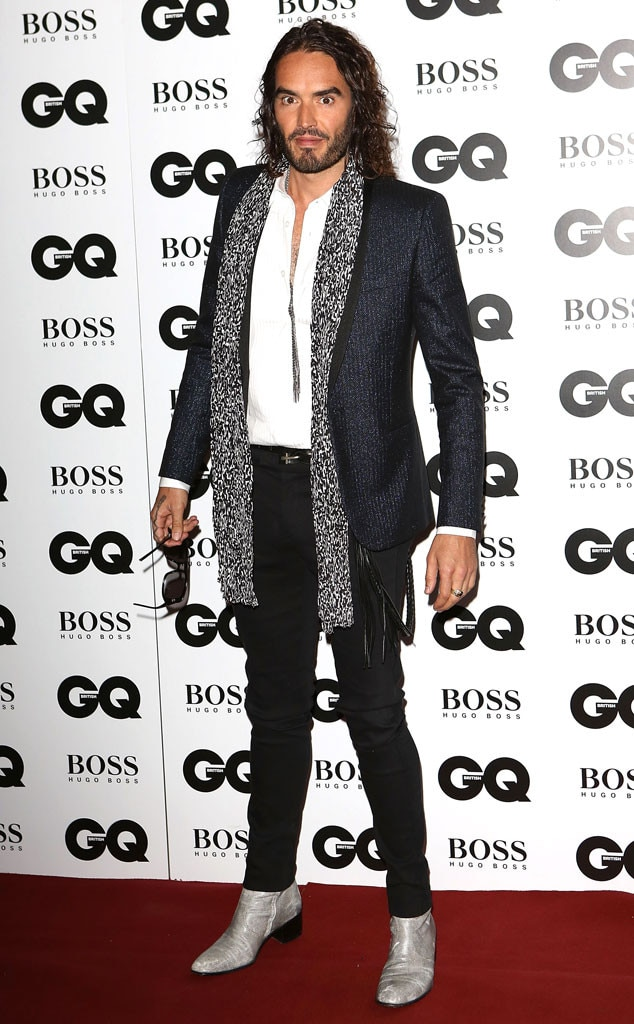 Russell Brand, GQ Men of the Year Awards