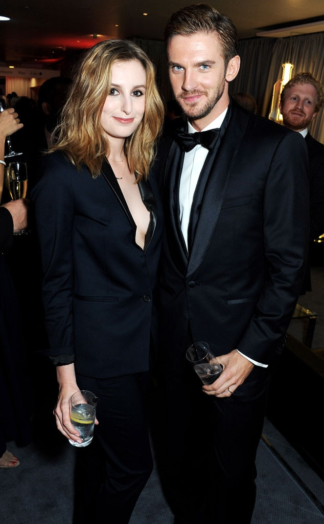 Laura Carmichael, Dan Stevens, GQ Men of the Year Awards