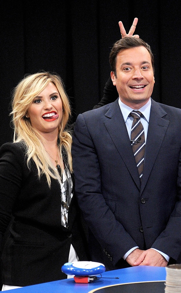 Demi Lovato, Jimmy Fallon