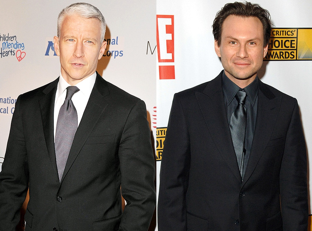 Anderson Cooper, Christian Slater, Famous Classmates