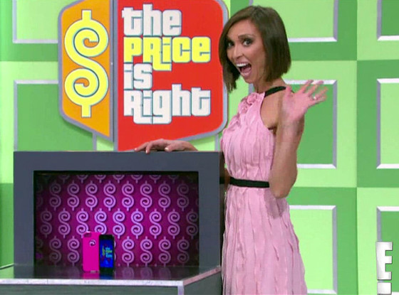 Giuliana Rancic, Price is Right
