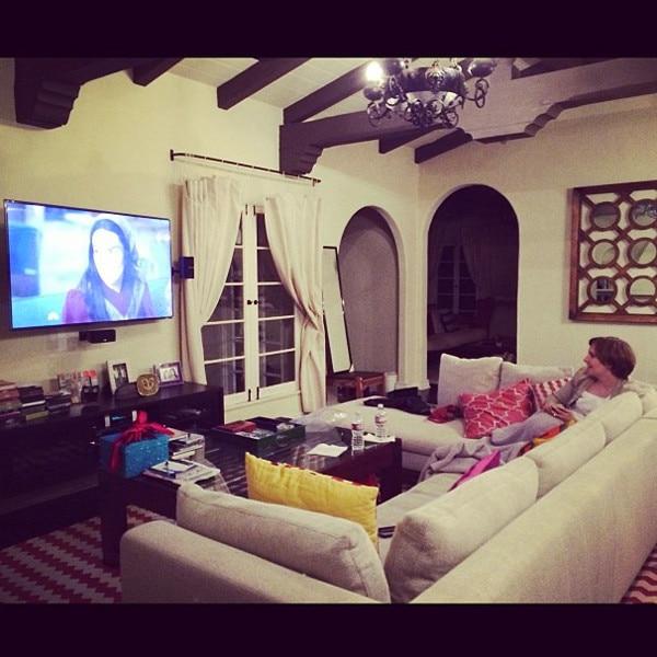 Lena Dunham, Instagram