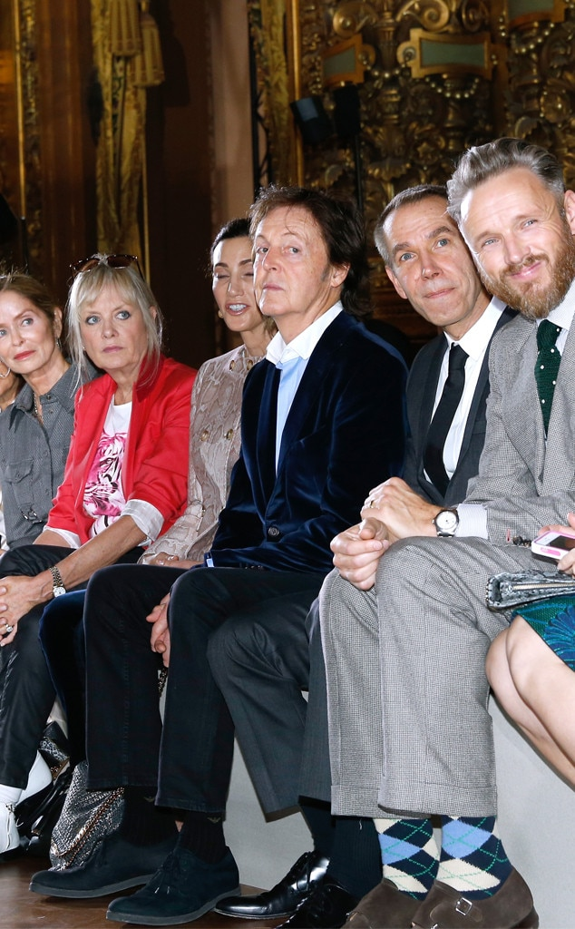 Barbara Bach Starkey, Twiggy Lawson, Nancy Shevell, Sir Paul McCartney, Jeff Koons, Alasdhair Willis