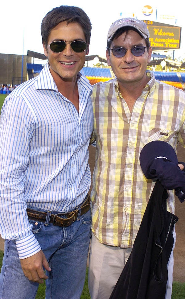 Charlie Sheen S Mediterranean Style Home In L A: Charlie Sheen & Rob Lowe From Celebrity Classmates