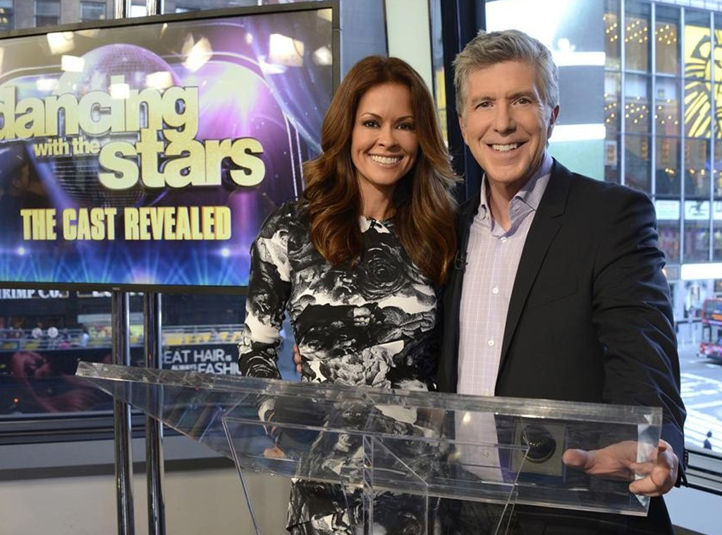 Brooke Burke Charvet, Tom Bergeron, Dancing With The Stars