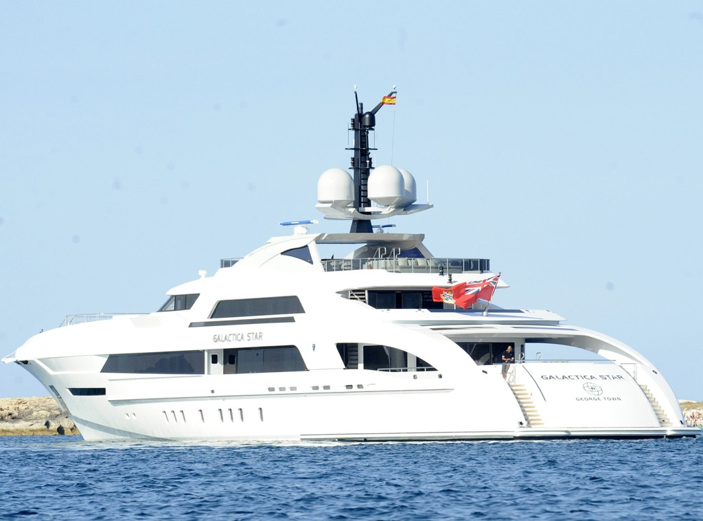 Inside The Lavish World Of Celebrity Yachts E News