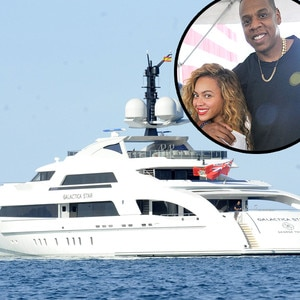 Beyonce, Jay-Z, Yacht