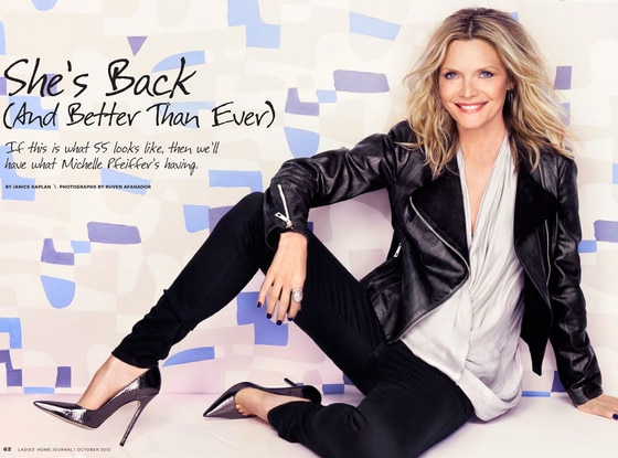 Michelle Pfeiffer, Ladies Home Journal