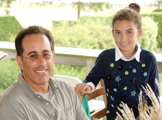 Jerry Seinfeld Steps Out in Hamptons With Mini-Me Daughter ...
