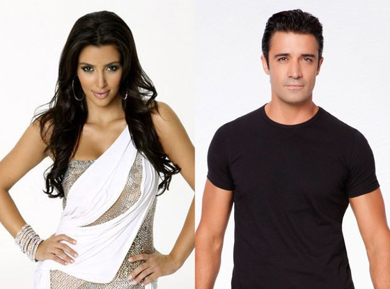 Kim Kardashian, Gilles Marini, Dancing with the Stars, DWTS