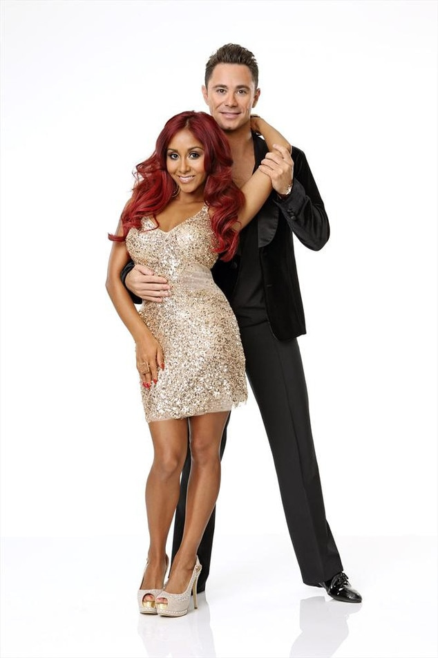 "Dancing With The Stars, DWTS, Season 17, NICOLE ""SNOOKI"" POLIZZI & SASHA FARBER"