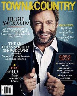 Hugh Jackman, Town & Country