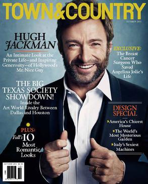 Hugh Jackman, Town & Country