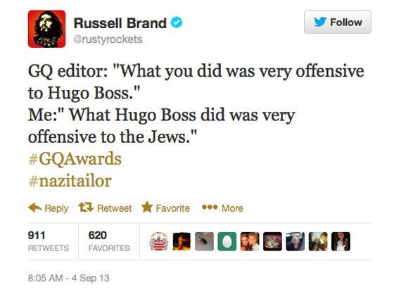 Russell Brand Twitter