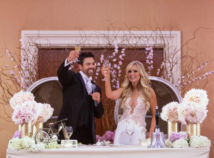 Tamra Barney, Wedding photo