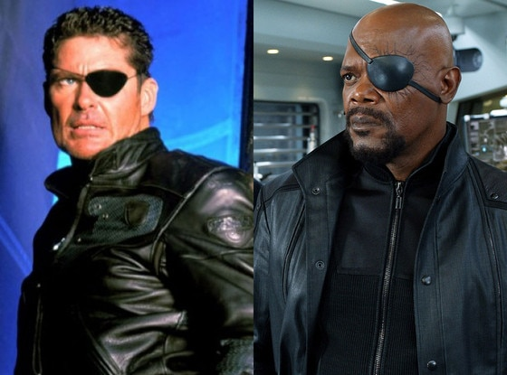 Nick Fury, David Hasselhoff, Samuel L. Jackson