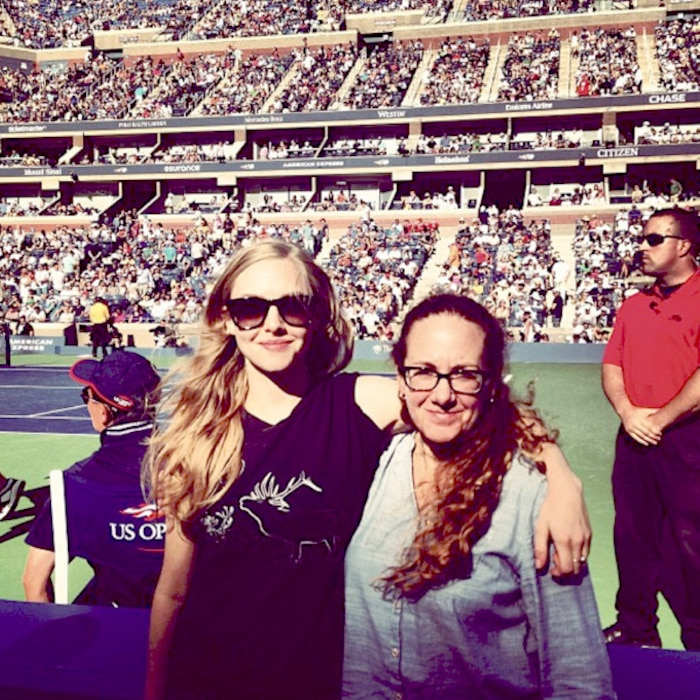 Amanda Seyfried, U.S. Open
