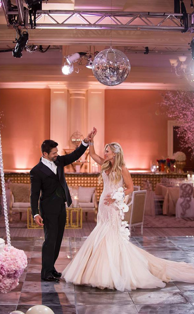 Tamra Barney, Wedding photo