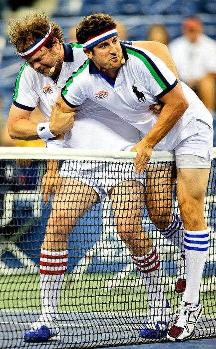 Jason Biggs, Rainn Wilson, US Open