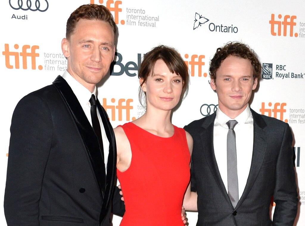 Tom Hiddleston, Mia Wasikowska, Anton Yelchin, TIFF, Toronto Film Festival