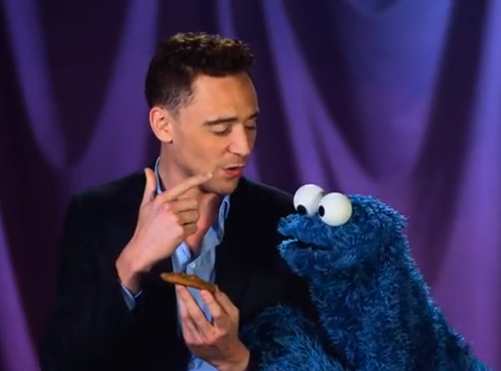 Cookie Monster, Tom Hiddleston