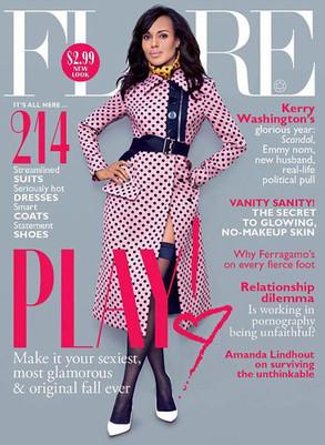 Kerry Washington, Flare Magazine
