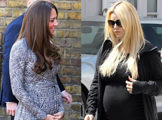 Kate Middleton, Jessica Simpson