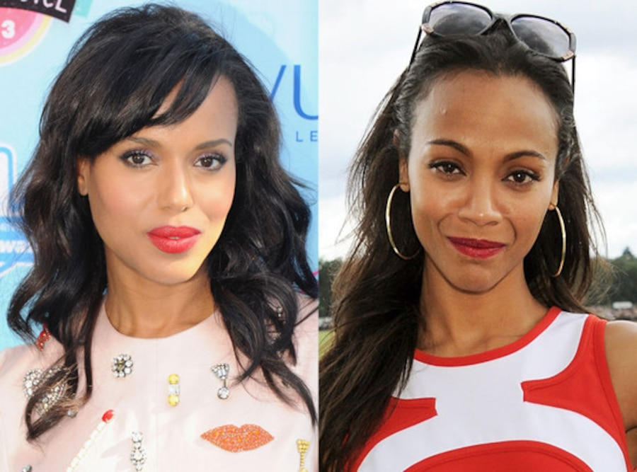 Zoe Saldana, Kerry Washington