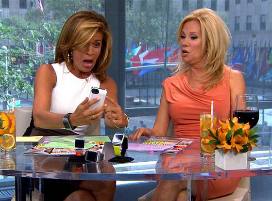 Hoda Kotb, Kathie Lee Gifford, Today Show, Phone Number