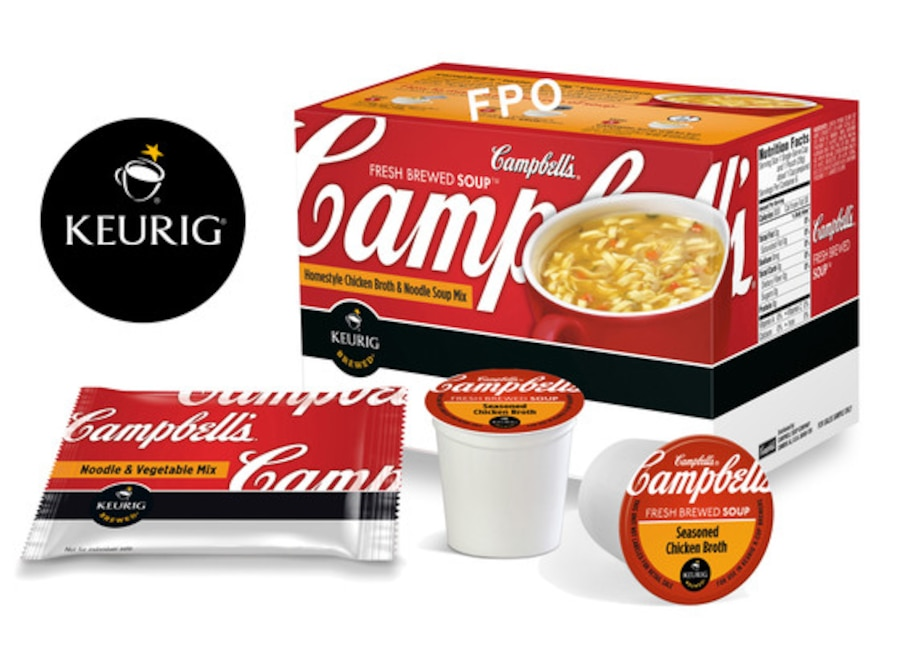 Campbell's Soup K-Cup, Keurig