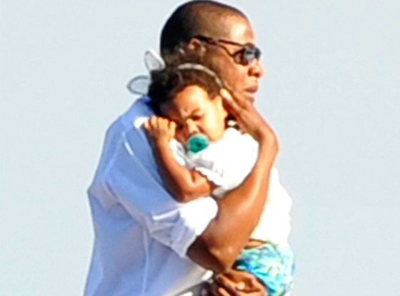 Beyonce, Jay-Z, Blue Ivy, Italy