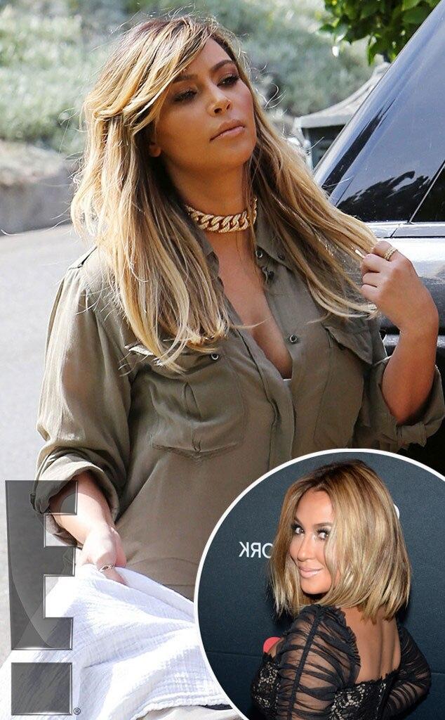Kim Kardashian,Adrienne Bailon