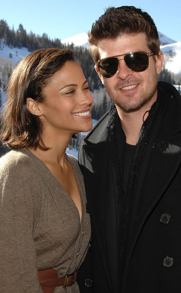 Cute Alert From Robin Thicke Amp Paula Patton In Love E News